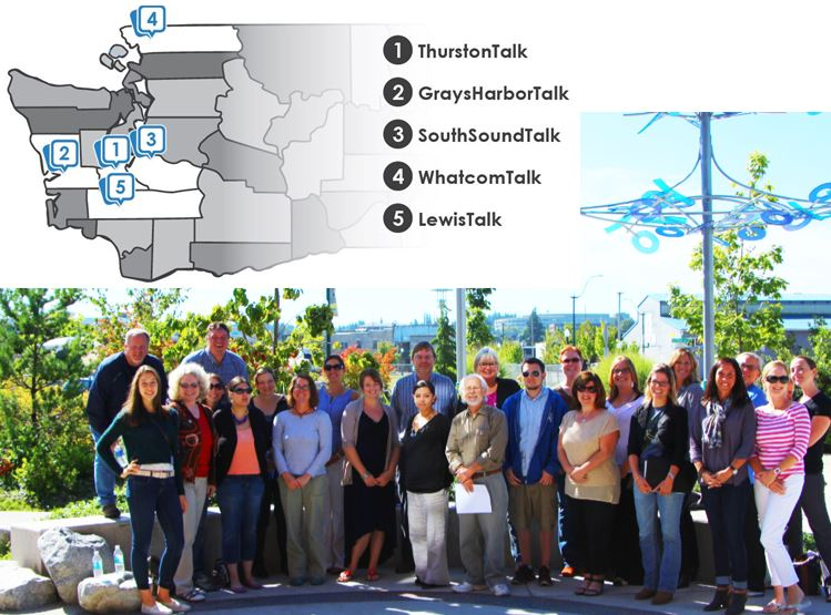 Western Washington Media Map and Team