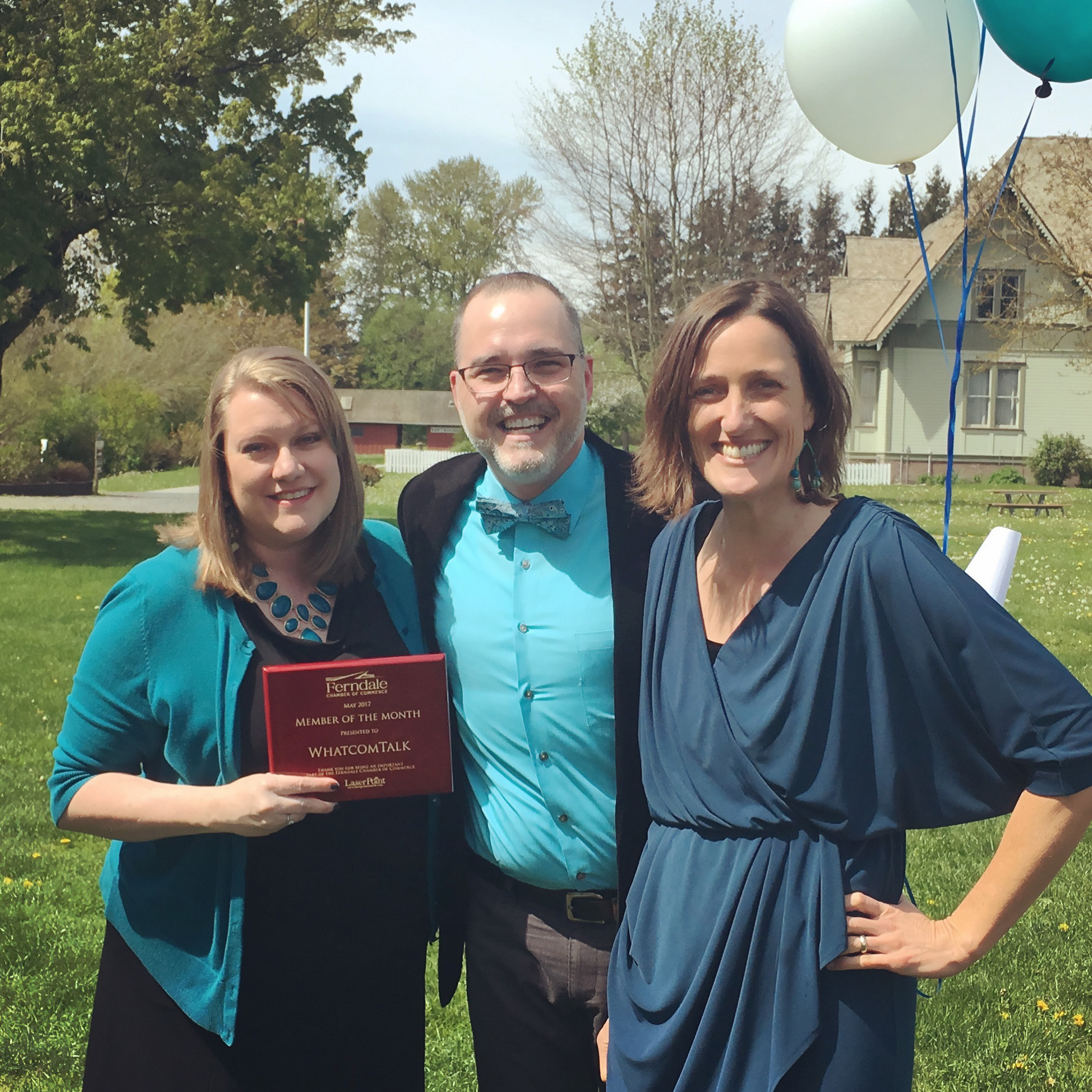 WhatcomTalk Honored as Member of the Month by Ferndale Chamber of Commerce